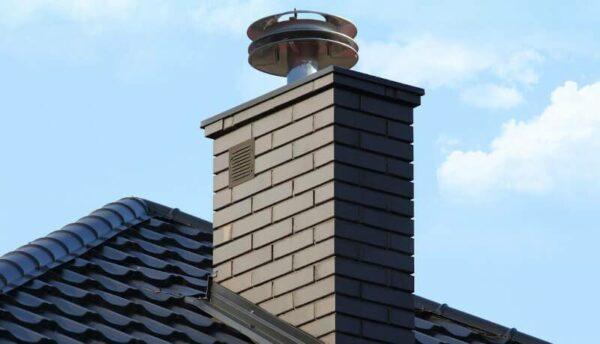 Nasada kominowa regulująca ciąg w kominie