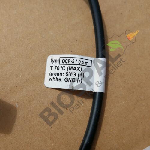 OCP-5 czyli oryginalny optyczny czujnik płomienia typu piątego produkcji Plum sotsowany w palnikach KIPI.
