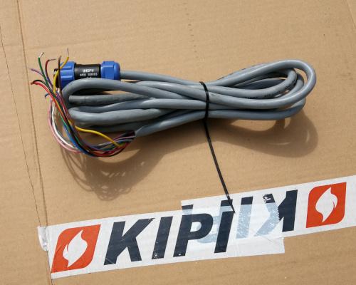 Kabel sterowniczy do palnika KIPI 12 pin z wtyczką