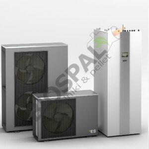 Pompa ciepła AWT monobloc kompletny zestaw kotłowni gotowy do ogrzewania i chłodzenia całego domu zależnie od potrzeb użytkownika.